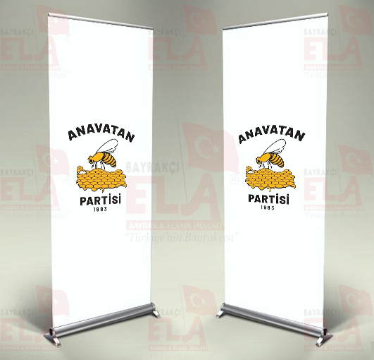 Anavatan Partisi Banner Roll Up