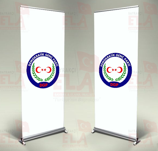 Demokratik Genç Parti Banner Roll Up