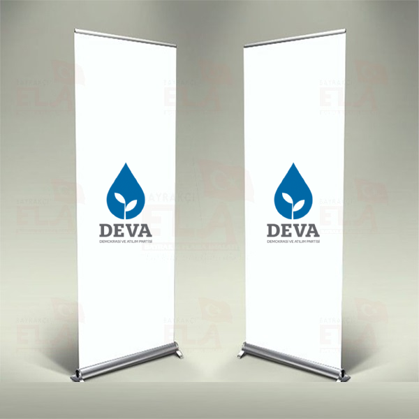 Deva Partisi Banner Roll Up