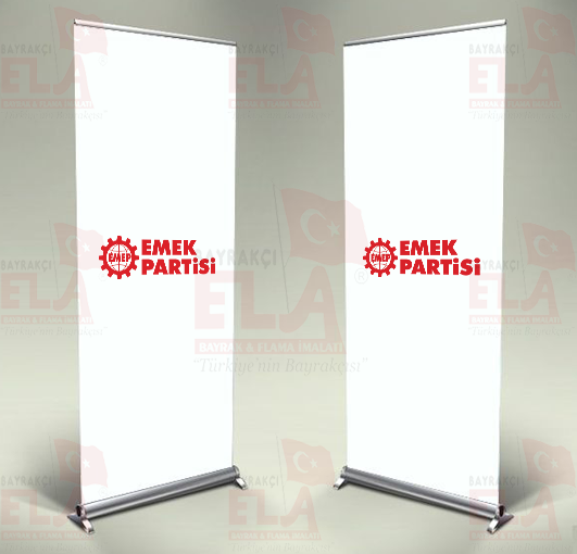 Emek Partisi Banner Roll Up