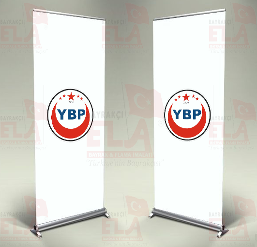 Yeniden Birlik Partisi Banner Roll Up